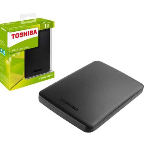 """DISCO DURO EXTERNO TOSHIBA 1 TB 2.5"""" USB 3.0"""""""