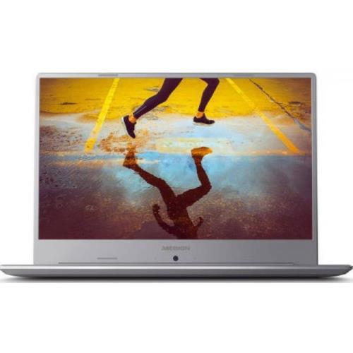 """PORTÁTIL MEDION AKOYA S6445 MD61380 - W10 - I7-8565U 1.8GHZ - 8GB - 1TB - 15.6""""/39.6CM FHD - HDMI - BT - PLATA"""